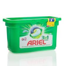 """<b>Гель для стирки Ariel</b> в капсулах """"Горный родник"""", 12 шт (1314747)"""