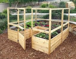 building a garden box. Diy Garden Boxes Raised Deer Proof Cedar Complete Bed Kit 8 X . Building A Box B