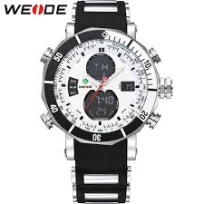 weide men sports watches waterproof military quartz digital watch weide men sports watches waterproof military quartz digital watch alarm stopwatch dual time zones brand new