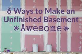 Basement Lighting Design Fascinating BrightNest 48 Ways To Make An Unfinished Basement Awesome