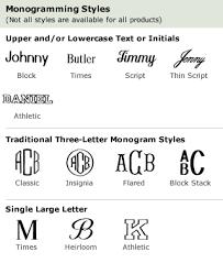 L L Bean Monogramming Information