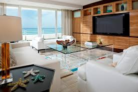 Ocean Decor For Living Room Beach Living Room Ideas Large Coastal Living Room Photo In Other