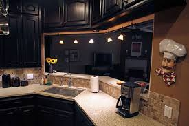 Oc Kitchen And Flooring Cool Kitchen Ideas With Black Cabinets 4747 Baytownkitchen