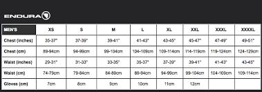 Endura Hummvee Size Chart Endura Hummvee Lite Ii Baggy Shorts