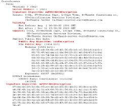 Digital Certificate A Sample X509 Digital Certificate Download Scientific Diagram