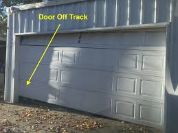 garage door off tracktorsion springs for garage door oiling