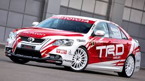 TRD Toyota Aurion Race Car XV40 '2007–12 - YouTube