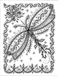 Small Picture Instant download Coloring pages Buttefly dragonfly Art 5 pages to