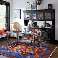 eclectic design home office. Inspiring Home Office With Stylish Design : Modern Eclectic Space Eclectic Design Home Office C