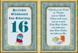 Spruch Zum 16 Geburtstag Lustig Spr252che Celiatyasuzan Web