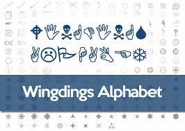 Wingdings Alphabet Wingdings Translator Online