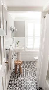 Brilliant Classic White Bathroom Ideas 10 Beyond Stylish Bathrooms With Patterned Encaustic Tile For Design