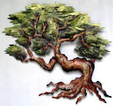 pretty metal willow tree wall art ideas wall art ideas dochista info