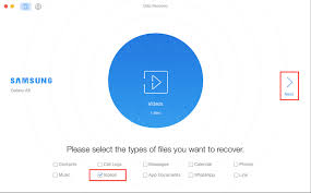 to recover deleted videos from samsung