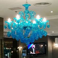 Us 11000 Design Moderne Kronleuchter Licht Rot Schwarz Lila Blau Gelb Murano Stil Glas Leuchten Lampe Studie Projekt Lampe In Kronleuchter Aus