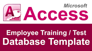 Employee Training Tracking Template Access Employee Training And Test Tracking Database Template Youtube