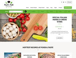 Recipe Page Layout 30 Best Food Wordpress Themes For Sharing Recipes 2019 Athemes