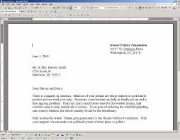 Microsoft Word Letter Format The Best Letter Sample