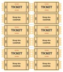 Template For A Raffle Ticket Free Printable Raffle Ticket Template Download Free