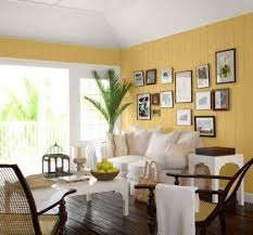 Yellow Living Room Decor Living Room Yellow Living Room Yellow Panneling Wall With Photo