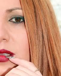 無料画像 ハンド 女の子 指 赤 褐色 ネイル リップ 髪型 眉