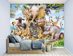 Bolcom Walltastic Jungle Safari Behang 305 X 244 Cm