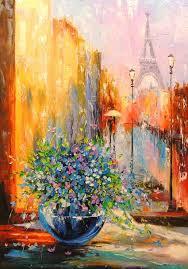 spring in paris architecture paintings fine art impressionism romanticism architecture