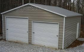 10 x 9 garage doorMetal Garages  Steel Buildings  Steel Garage Plans