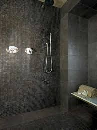 Amusing Mosaic Ideas For Bathrooms Amusing Retro Dark Mosaic Tile - Mosaic bathrooms