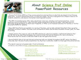 About Science Prof Onlinescience Prof Online Powerpoint Resources