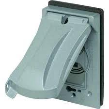 weatherproof gfci cover receptacle in 1 outdoor weatherproof gfci cover