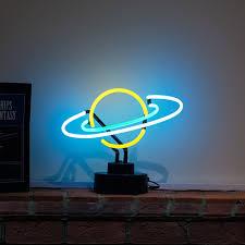 Planet Neon Light Details About Real Neon Light Planet Space Solar System Desk