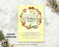 Downloadable Christmas Party Invitations Templates Free New Snowman Party Invitation Sample Printable Christmas Invitations Free