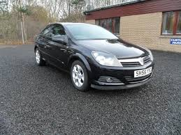 used vauxhall astra 2006 black hatchback petrol automatic