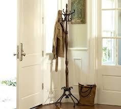 wooden standing coat racks cherry wood standing coat rack