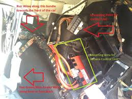 diy f oem backup reversing camera retrofit installed as mentioned above the fuse connection is a simple plug it in thing the fuse for the rear camera from ista is socket 154 illustrated below