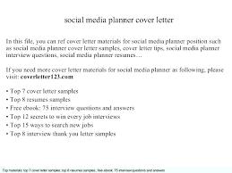 Assistant Media Planner Cover Letter