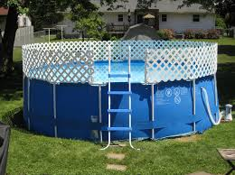 above ground swimming pool ideas. Above Ground Swimming Pool Fencing Image And Description Ideas E