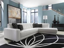 white area rug living room. Living Room, Blue White Area Rug Contemporary Pyramid Shaped Shelf Standing Lamp Simple Beige Wall Room