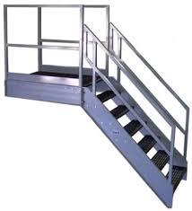 exterior stair railing height. galvanized stairways osha stairs exterior stair railing height t