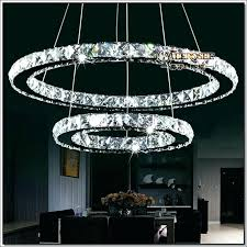 circle chandelier light modern design led chandelier light fixture circle round 2 rings for pendant in
