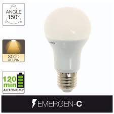 Emergen C Led Light Bulb E27 Base Battery Included Xanlite Store