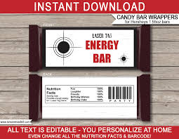 hershey candy bar wrapper laser tag hershey candy bar wrappers personalized candy bars