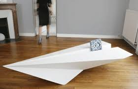 table design ideas. Kids Floating Paperplanes Everywhere? Your Turn To Get Back. Bring The Paperplane Table Living Room. Designed By Irish Designer Lorraine Brennan. Design Ideas E