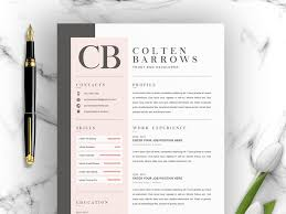 Creative Cover Letter Template Creative Resume With Cover Letter By Resume Templates On