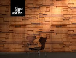 flat stacked wood from the repeating textures collection in cherry