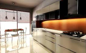 modular kitchen colors: dazzling modular kitchen amusing modular kitchen with straight shape white color kitchen cabinets wall mounted cabinets with black glass door white color laminated countertops built in stoves cooker hood double bowl kitchen s