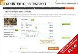 fabulous granite countertop countertop granite countertop estimate calculator