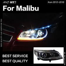 2016 Chevy Malibu Fog Light Kit Akd Car Styling Head Lamp For Chevrolet Malibu Headlights 2012 2016 Malibu Led Headlight Drl Hid Bi Xenon Auto Accessories