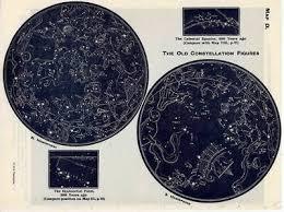 Star Chart Poster Custom Custom Star Map Print Star Chart Night Sky Constellation